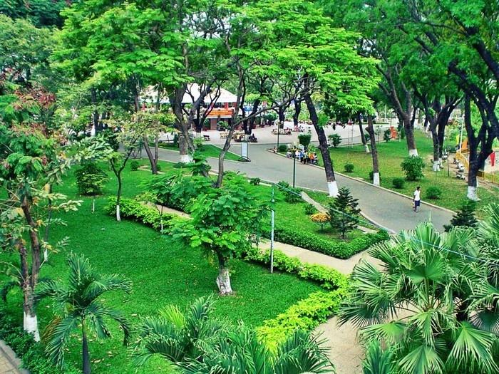 Công viên Hoàng Văn Thụ trước dự án